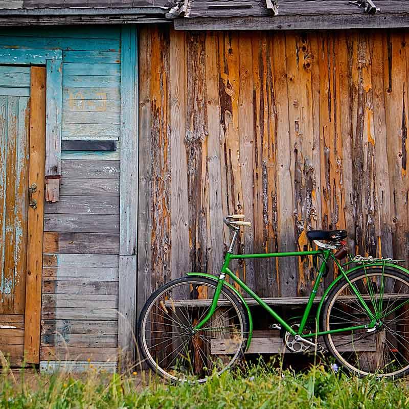 Hebt u ook leren fietsen uit een boek?